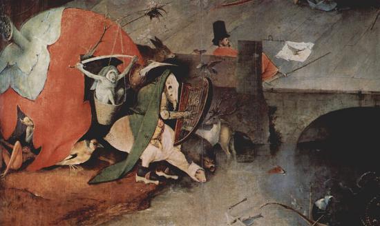 Σατανικά τέρατα στη ζωγραφική του Μεσαίωνα