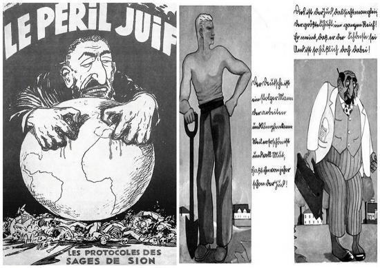 Το στερεότυπο του Εβραίου σε εικόνες