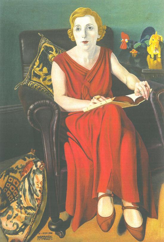 Πορτραίτο  της κυρίας Βίγκι