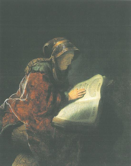 Ηλικιωμένη γυναίκα που διαβάζει