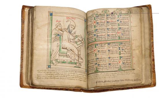Για την τύχη και τη μοίρα (χειρόγραφο του 13ου αιώνα μ.Χ.)