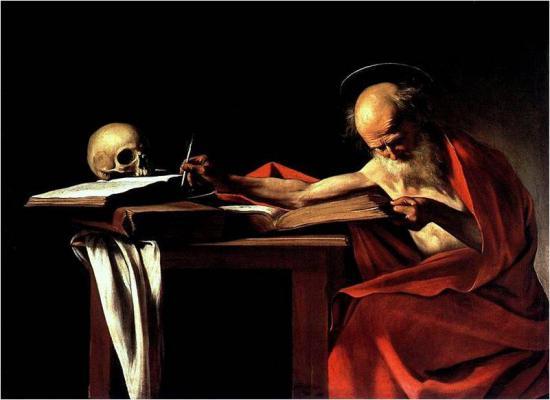Ο Άγιος Ιερώνυμος (Caravaggio, 1605-1606)