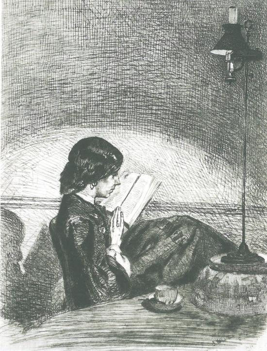 Ανάγνωση με τη λάμπα