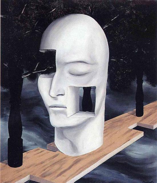 René Magritte, Le visage du génie (1927)