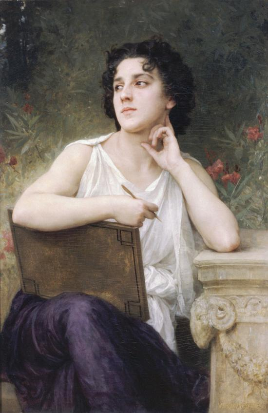 William-Adolphe Bouguereau, Inspiration (1898)