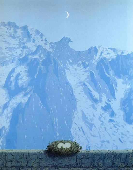 René Magritte, Le domaine d'Arnheim (1962)