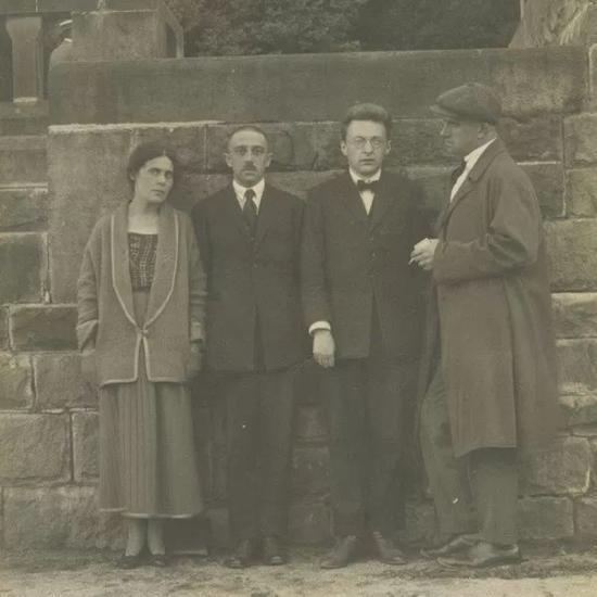 Lilya και Osip Brik, R. Jakobson, Vl. Mayakovski (Γερμανία, 1923)