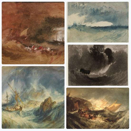 Πίνακες του Joseph Mallord William Turner