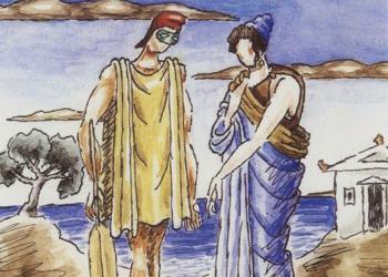 Πηνελόπη και Οδυσσεύς