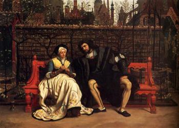 Ο Φάουστ και η Μαργαρίτα στον κήπο