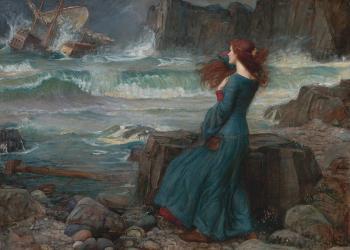 John William Waterhouse, Miranda – The Tempest (1916)