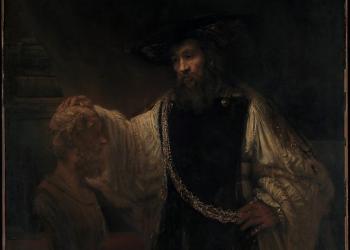 Rembrandt, Ο Αριστοτέλης μπροστά στην προτομή του Ομήρου
