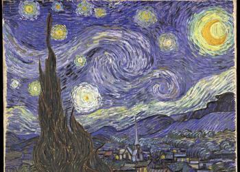 Vincent Van Gogh, Η έναστρη νύχτα