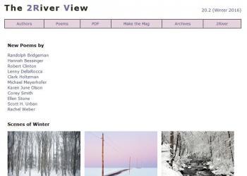 Περιοδικά για την ποίηση ΙI: The 2River View