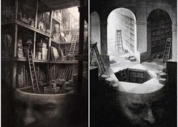 Κεφάλι-βιβλιοθήκη Ι